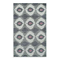 Rugs America Jourdan Abrash 5-Foot x 8-Foot Area Rug in Grey
