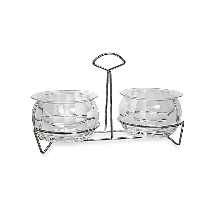 Alternate image 1 for Prodyne 5-Piece Double Dips On Ice™ with Chrome Caddy