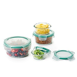 OXO Good Grips® Smart Seal Glass Round Food Storage Set