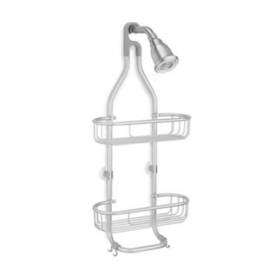 Bed Bath And Beyond Shower Caddy interdesign® aluminum rustproof shower caddy | bed bath & beyond