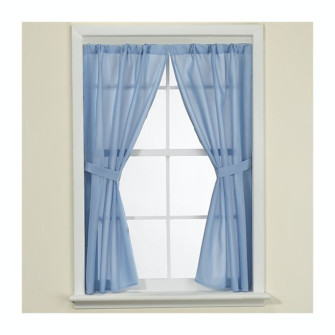 ecea3aa4baf Fabric Bath Window Curtain
