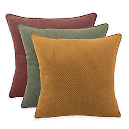 Arlee Home Fashions® Convex Textured Woven Square Throw Pillow (Set of 2)