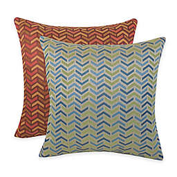 Arlee Home Fashions® Mona Woven Geometric Square Throw Pillow (Set of 2)