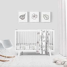 Goumi® Abstract Floral 3-Piece Crib Bedding Set