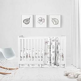 goumi® Abstract Floral 5-Piece Crib Bedding Set