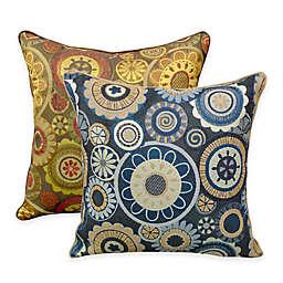 Arlee Home Fashions® Scarlett Woven Jacquard Square Throw Pillow (Set of 2)