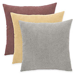 Arlee Home Fashions® Textured Woven Square Throw Pillow (Set of 2)