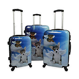 Chariot 3-Piece Luggage Set in Dream