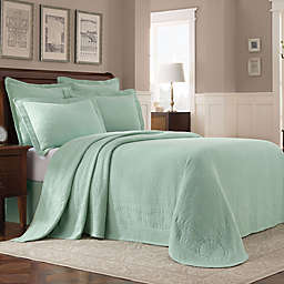 Williamsburg Abby Twin Bedspread in Sage