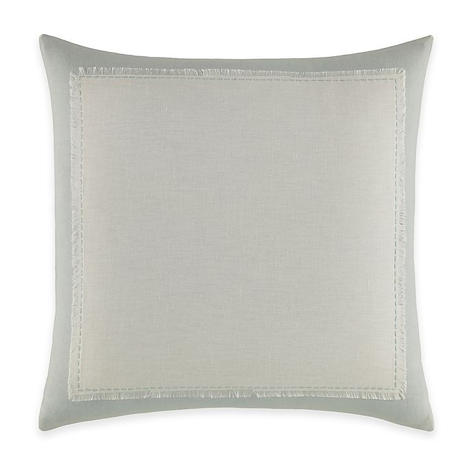 Alternate image 1 for Jeffrey Alan Marks for Inspired by Kravet Waterway Linen Square Throw Pillow in Blue