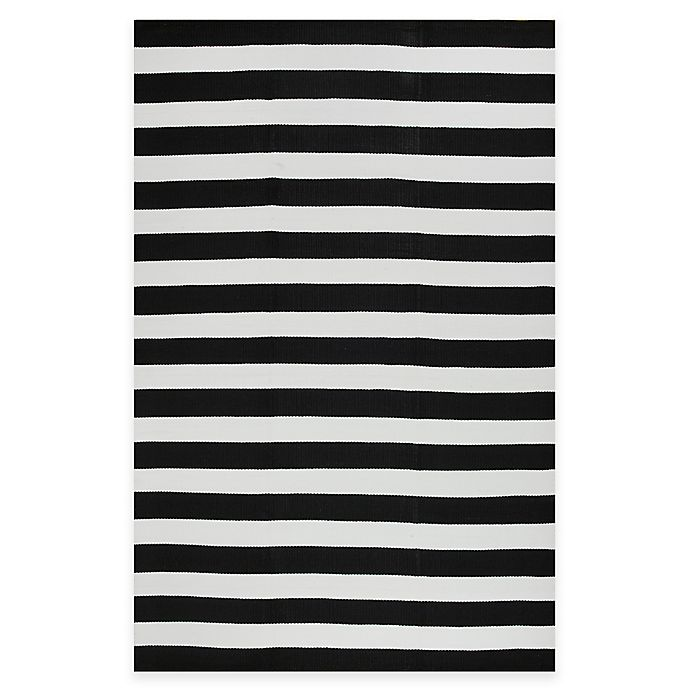 Alternate image 1 for Fab Habitat Nantucket Stripe Indoor/Outdoor Rug
