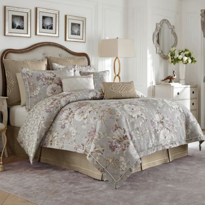 Croscill 174 Victoria Reversible Comforter Set Bed Bath And