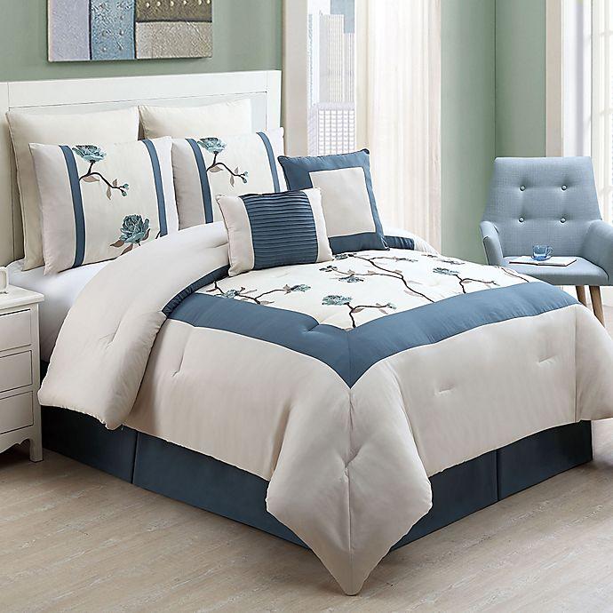 Alternate image 1 for VCNY Trousdale 8-Piece Comforter Set