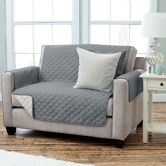 Kaylee Collection Reversible Loveseat Size Furniture