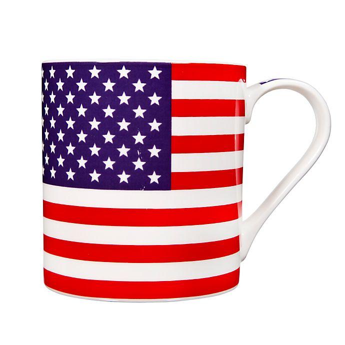 Alternate image 1 for Home Essentials & Beyond American Flag Mug