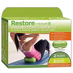 Gaiam® Restore Strong Core and Back Exercise Ball Kit