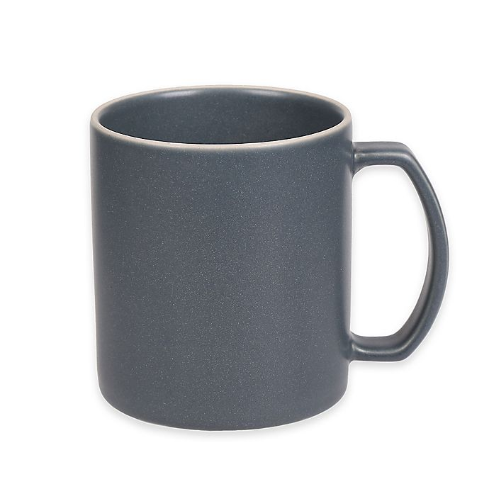 Alternate image 1 for Artisanal Kitchen Supply® 18 oz. Edge Mug in Grey