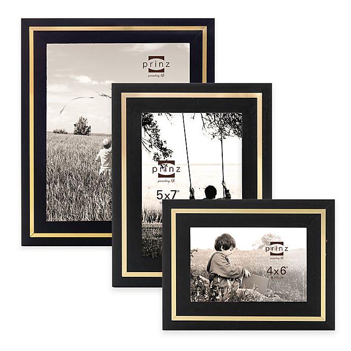 Alternate image 1 for Prinz Artisan Wood Frame in Black