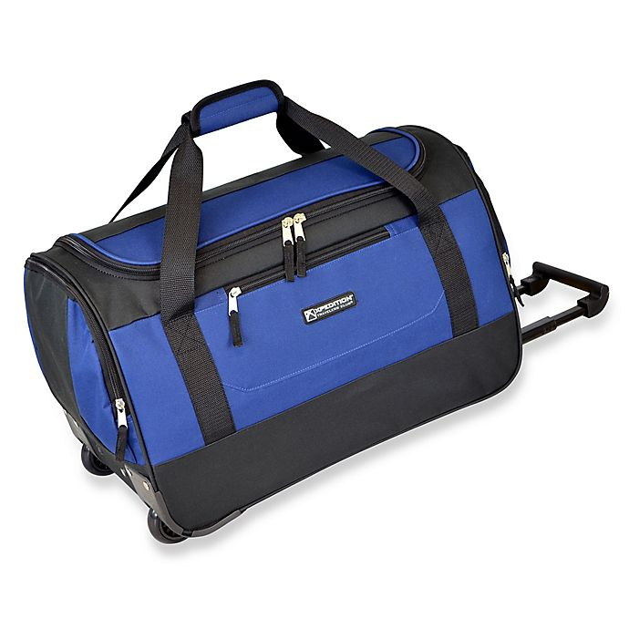 7bdf7e1e0201 Travelers Club® 20-Inch Rolling Duffle Carry On
