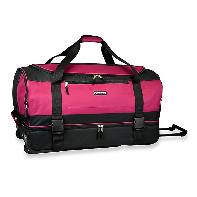 30 Inch Drop Bottom Rolling Duffle Bag View A Larger Version Of This Product Image