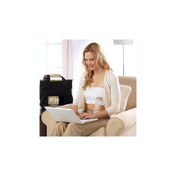 Alternate image 1 for Medela® Easy Expression™ Bustier Pumping Bra in White