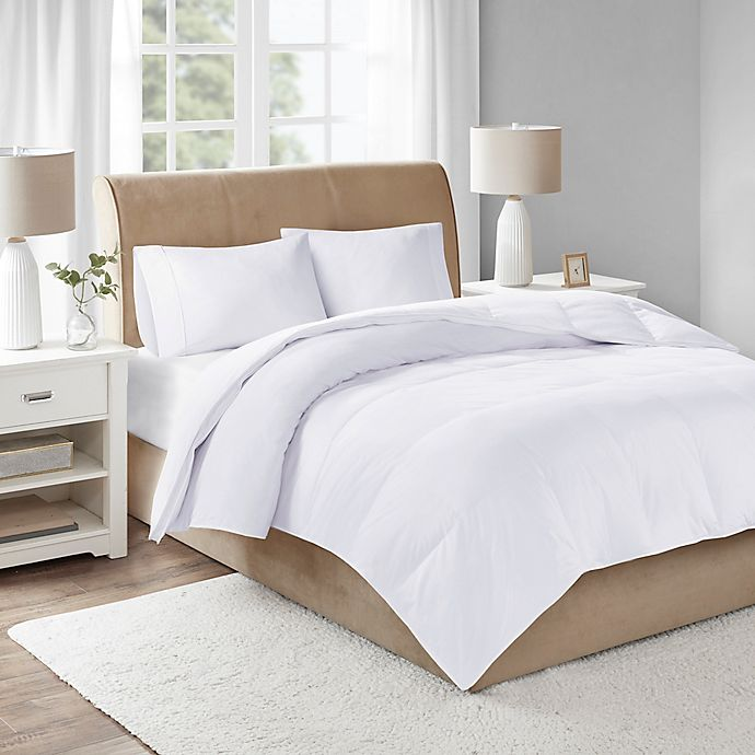 Alternate image 1 for Sleep Philosophy True North 3M Extra Warm Twin Down Comforter in White