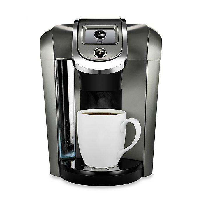 Alternate image 1 for Keurig® HOT 2.0 K575 Plus Series Brewing System in Platinum