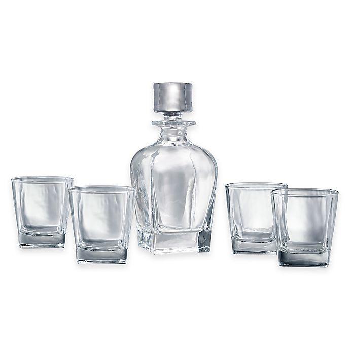 Alternate image 1 for Artland® Glacier 5-Piece Glass Whiskey Set