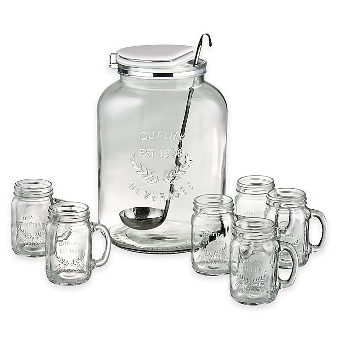 Alternate image 1 for Artland® Masonware 8-Piece Punch Set in Clear