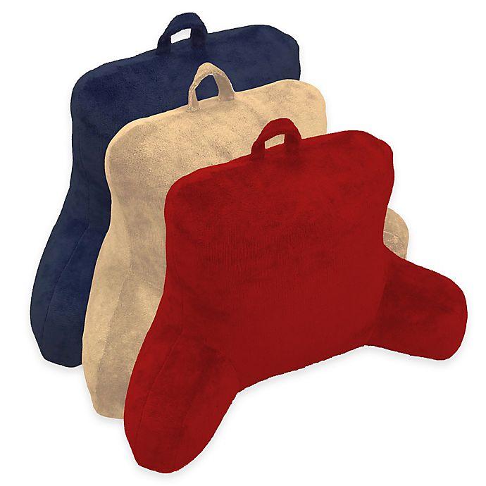 Alternate image 1 for Micro Mink Backrest Pillow