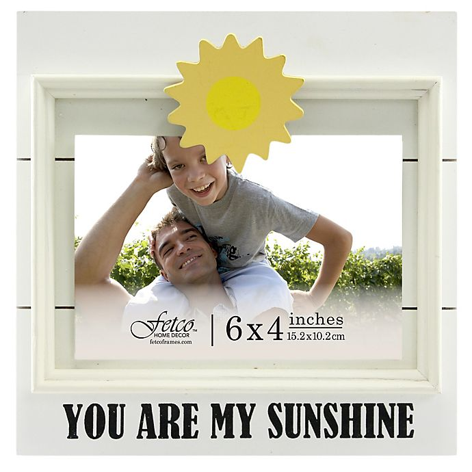 Fetco Home Decor 4 Inch X 6 Inch You Are My Sunshine Jethro Clip
