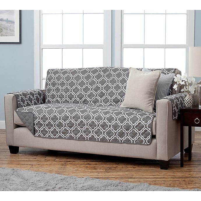 Adalyn Collection Reversible Furniture Protector Collection Bed