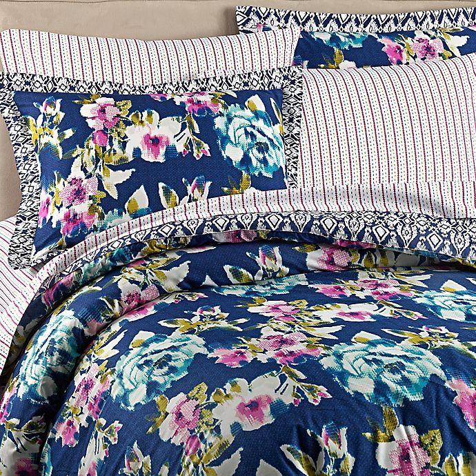 Alternate image 1 for Wander Home Krysten Reversible Comforter Set in Navy