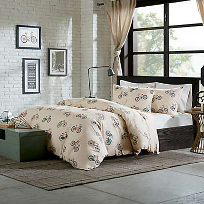 Madison Park HipStyle Raleigh Duvet Cover Set in Taupe