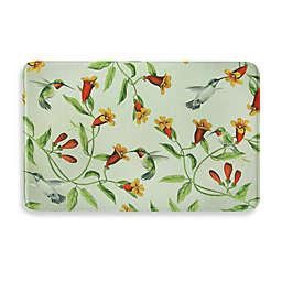 Bacova Hummingbirds and Trumpets Memory Foam Kitchen Mat