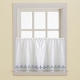 Leighton 36-Inch Tailored Curtain Tier