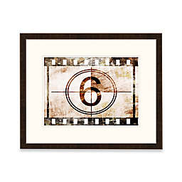 Framed Giclée Number 6 Wall Art