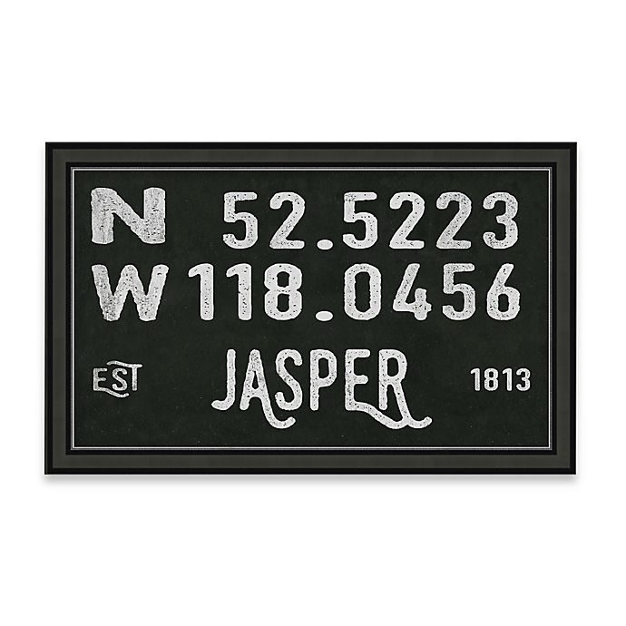 Alternate image 1 for Jasper, Canada Coordinates Framed Giclee Print Wall Art