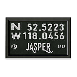 Jasper, Canada Coordinates Framed Giclee Print Wall Art