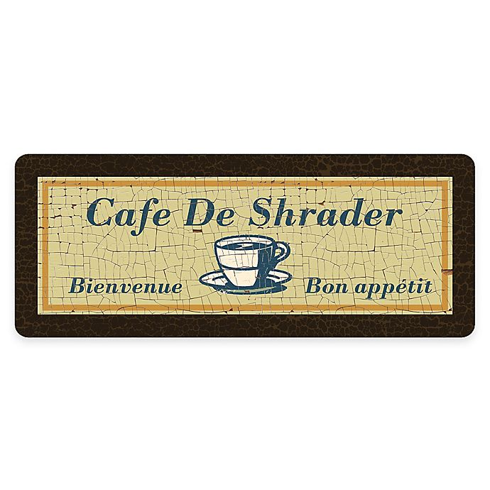 Alternate image 1 for Premium Comfort by Weather Guard™ French Café 22-Inch x 52-Inch Kitchen Mat