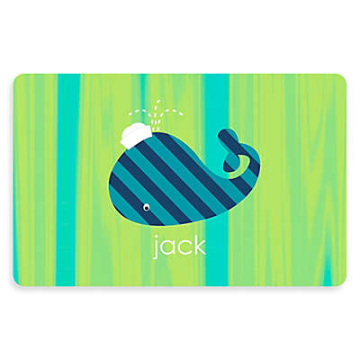 The Softer Side by Weather Guard™ Whale 23-Inch x 36-Inch Kitchen Mat