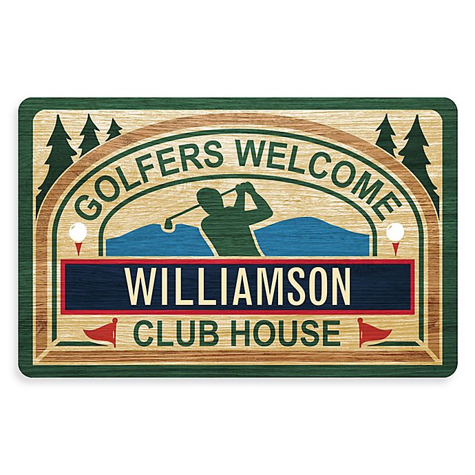 Alternate image 1 for Weather Guard™ 18-Inch x 27-Inch Golfer's Tavern Welcome Mat