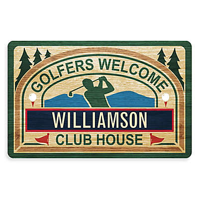 Weather Guard™ 18-Inch x 27-Inch Golfer's Tavern Welcome Mat