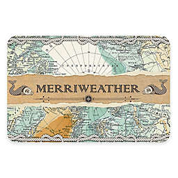 The Softer Side of Weather Guard™ Nautical Map 23-Inch x 36-Inch Kitchen Mat