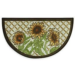 Sunflower Kitchen Rugs Bed Bath Beyond