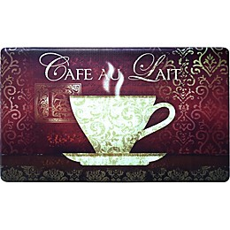 Home Dynamix Cook N Comfort 35.4-Inch x 19.6-Inch New Coffee Anti-Fatigue Kitchen Mat