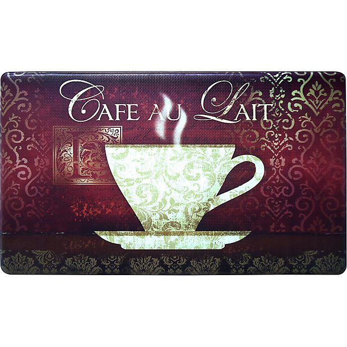 Alternate image 1 for Home Dynamix Cook N Comfort 35.4-Inch x 19.6-Inch New Coffee Anti-Fatigue Kitchen Mat