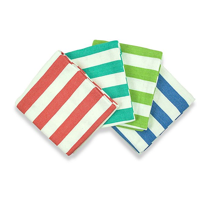 Alternate image 1 for Better Tropical 4-Pack Kitchen Towels
