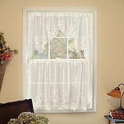 Heritage Lacereg Tea Rose Window Curtain Tier