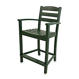 POLYWOOD® La Casa Counter Arm Chair
